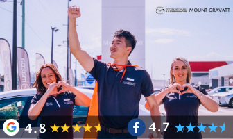 VOTED BRISBANE'S #1 MAZDA DEALER BY YOU!
