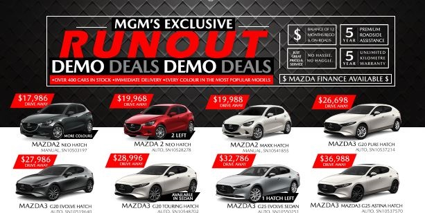 Mazda CX Sell Out